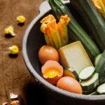 carbonara fior di zucchine