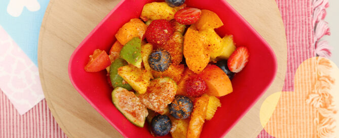 macedonia con peperoncino senza zucchero